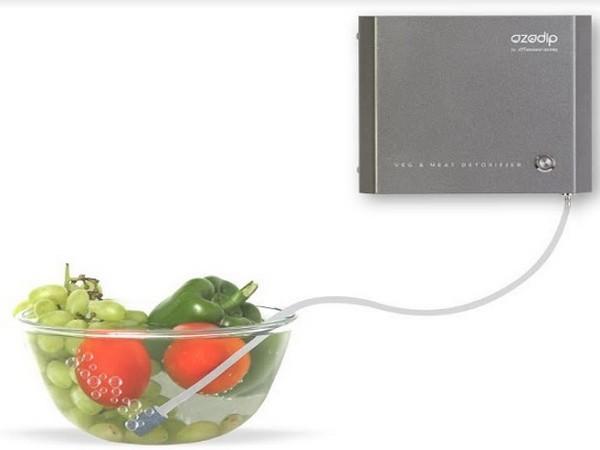 Coimbatore based Faraday Ozone launches Ozodip, a patented ozone-based food detoxifier