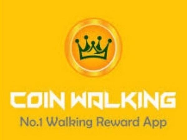Coin Walking Logo