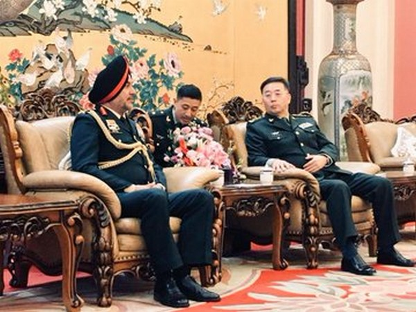 Northern Army Commander, Lt Gen Ranbir SIngh called on Commander of PLA Ground Forces.