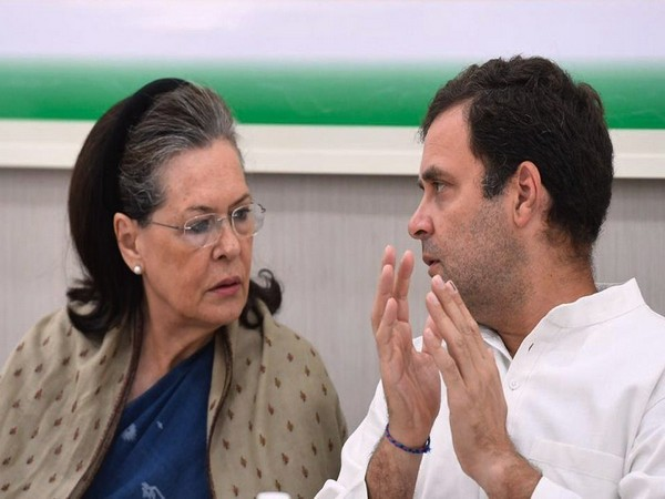 UPA chairperson Sonia Gandhi and Congress President Rahul Gandhi (File Photo)
