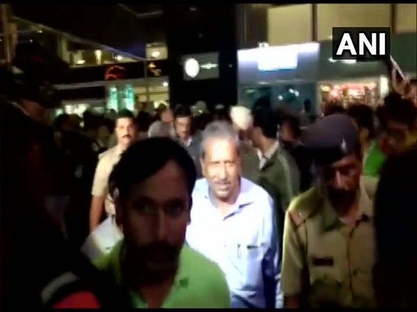 The five disqualified Congress MLAs arrived in Bengaluru in the early hours of Monday.