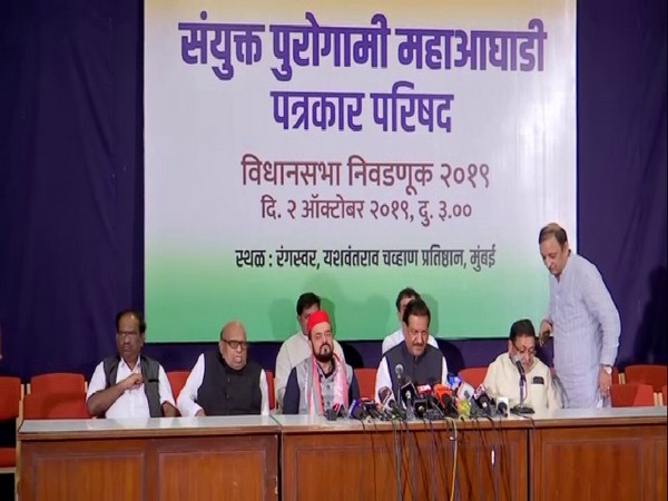 Congress, NCP and SP hold joint press conference