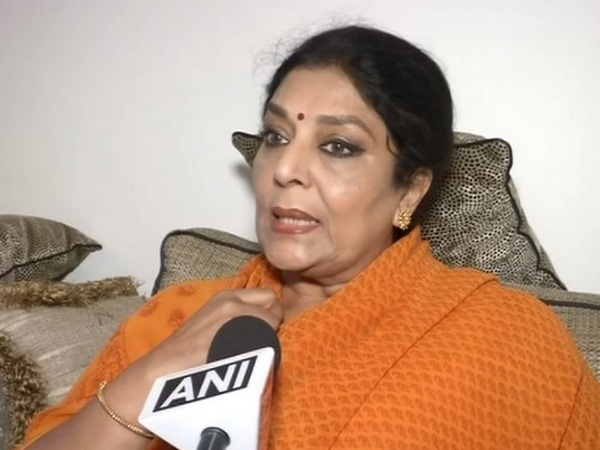 Congress MP Renuka Chowdhury while interacting with ANI. [Photo/ANI]
