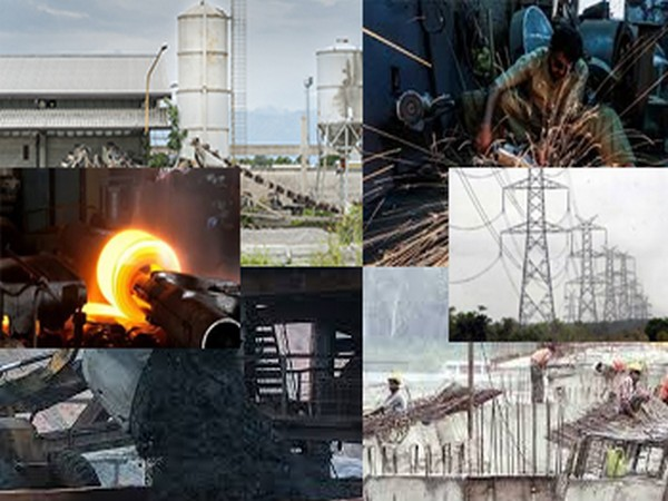 The eight core industries account for 40.27 pc of the country's industrial output.