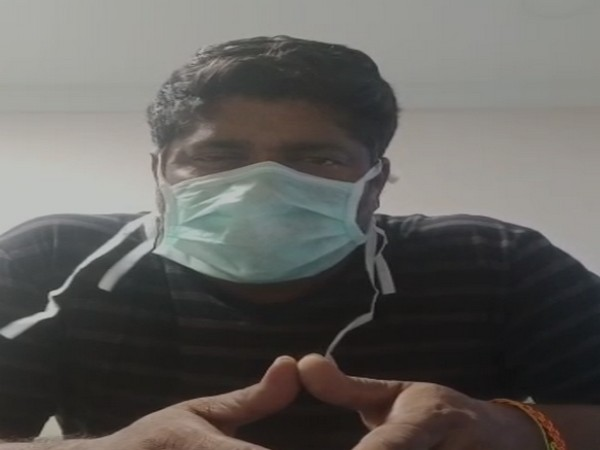 The patient is the third person in Machilipatnam town in Andhra Pradesh who has detected positive for COVID-19. Photo/ANI