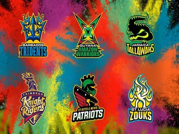 Caribbean Premier League 2020 teams (Photo/CPL T20 Twitter)