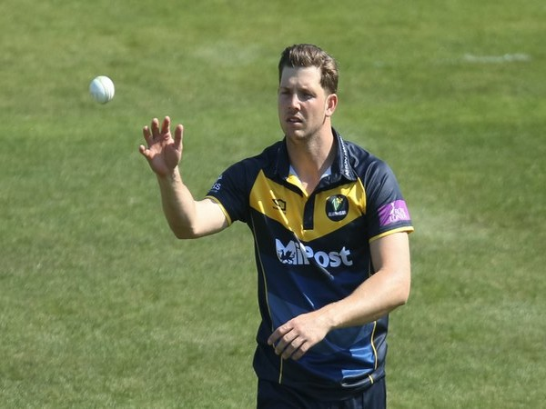All-rounder Craig Meschede (Photo/Glamorgan Cricket Twitter)