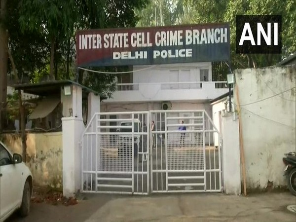 Visual from the Crime Branch, Delhi Police office on Thursday. Photo/ANI