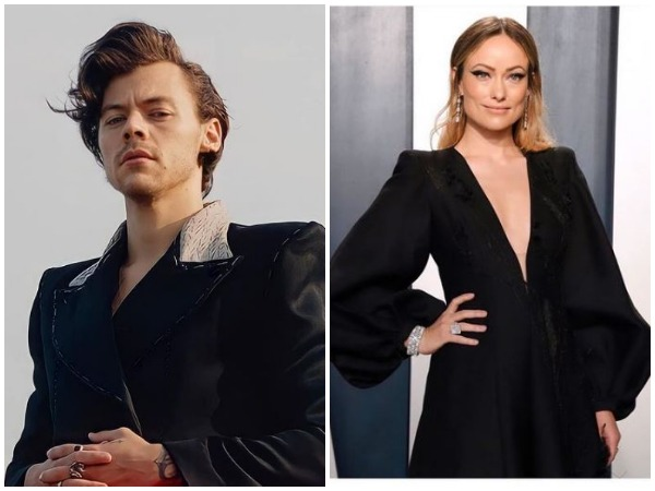 Harry Styles and Olivia Wilde  Image courtesy: Instagram)