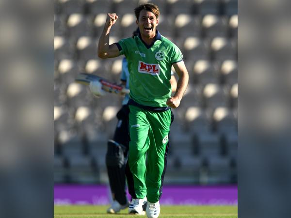 Ireland all-rounder Curtis Campher (Photo/Cricket Ireland Twitter)