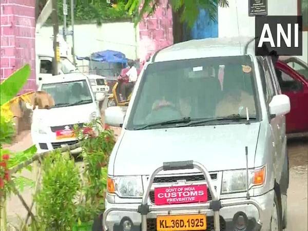 Kerala gold smuggling: Customs officials reach prison to interrogate M Sivasankar (Photo/ANI)