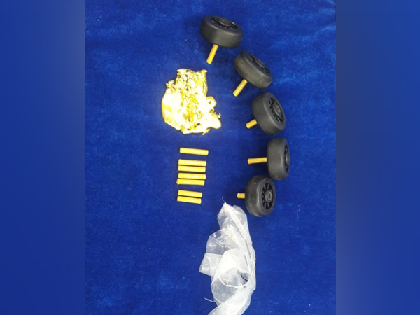 Gold worth Rs 18.6 lakh seized by customs at Chennai airport on Saturday.