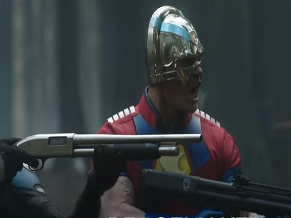 A still from first footage of 'Peacemaker' (Image Source: YouTube)