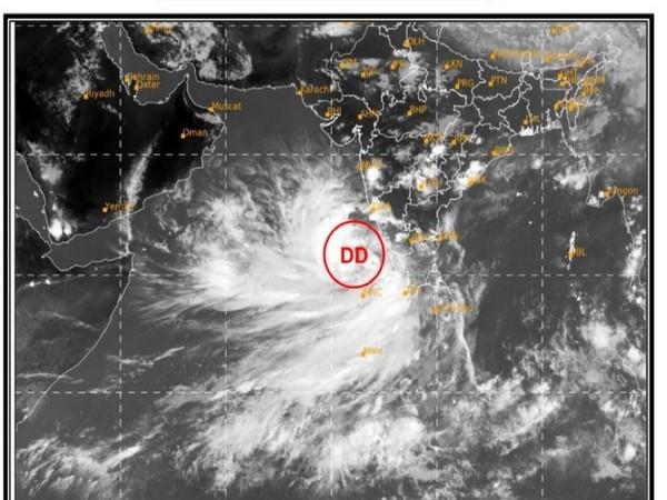 Visual representation of Cyclone Tauktae (Photo/Indian Navy)
