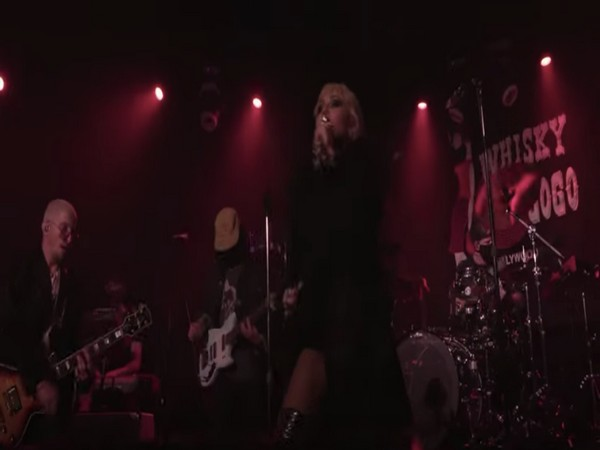 Miley Cyrus performing at Save Our Stages virtual music festival. (Image Courtesy: YouTube)