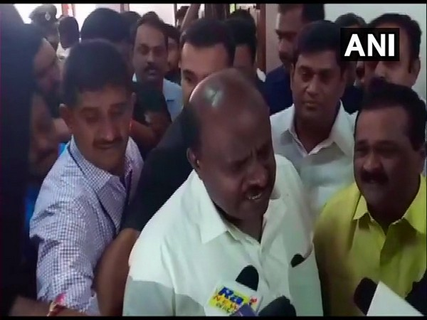 Chief Minister HD Kumaraswamy. Photo/ANI