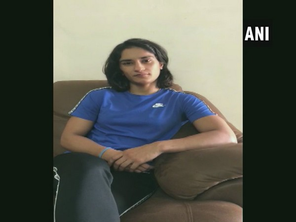 Vinesh Phogat in conversation with ANI