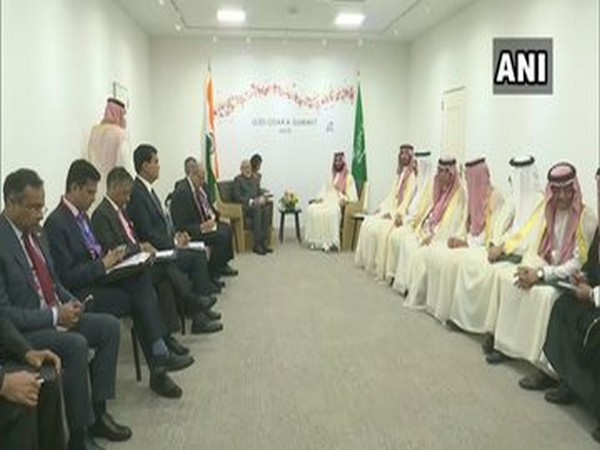 Prime Minister Narendra Modi and Saudi Arabia's Crown Prince Mohammed bin Salman on Friday ahead of G20 Summit
