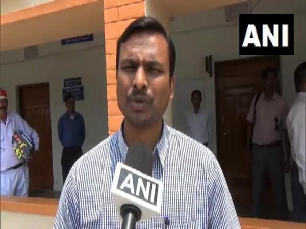 VK Jogdande, DM Pithoragarh speaks to ANI in Pithoragarh on Saturday. [Photo/ANI]