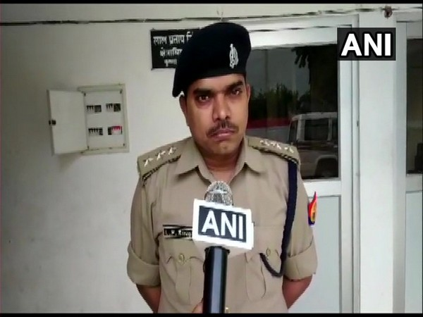 Lucknow Circle Officer speaking to ANI in Lucknow on Monday. Photo/ANI