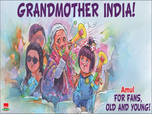 Amul India celebrates viral 87-year-old fan (Photo/ Amul.coop Twitter)