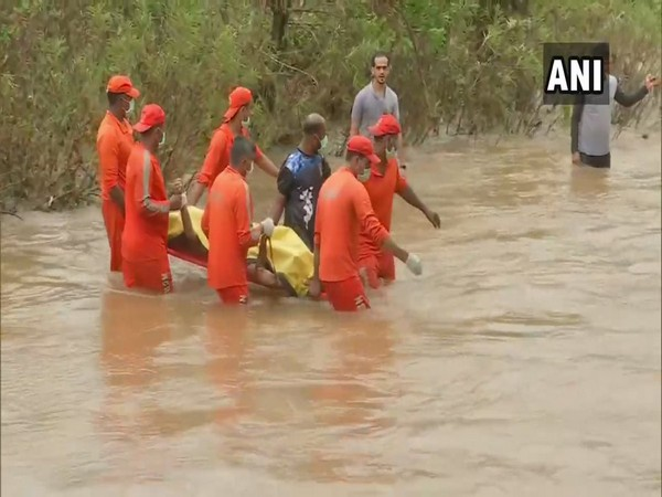 NDRF personnel during the search operation after Tiware Dam breach.
