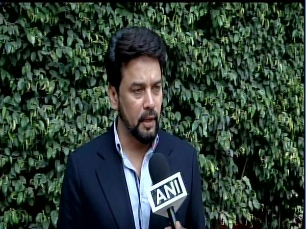 Chairman, Parliamnetary Committee on Information Technology, talking to ANI on Wednesday. (Photo/ANI)