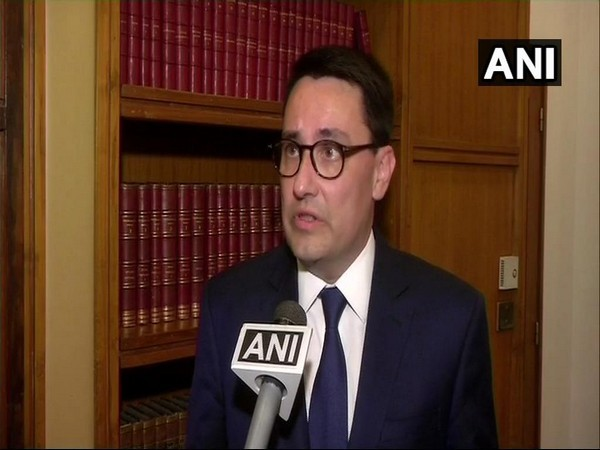 Ambassador of France to India Alexandre Ziegler speaking to ANI on Wednesday