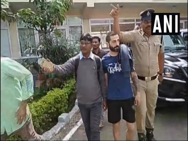 Bulgarian national arrested by Telangana Police Photo/ANI