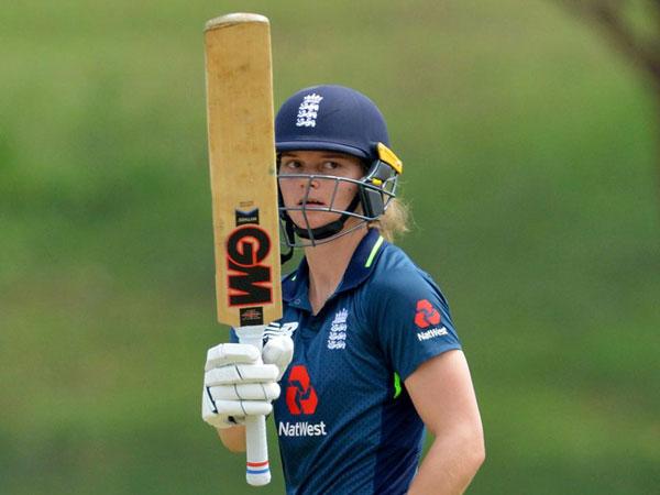 England women team wicket-keeper-batsman Amy Jones (Courtesy: England Cricket Twitter)