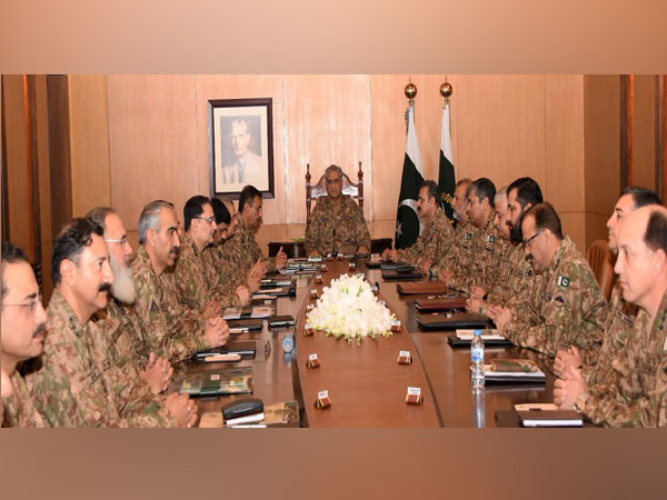 219th Corps Commanders' Conference in Pakistan on Thursday