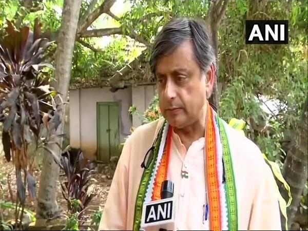 Former Union Minister Shashi Tharoor