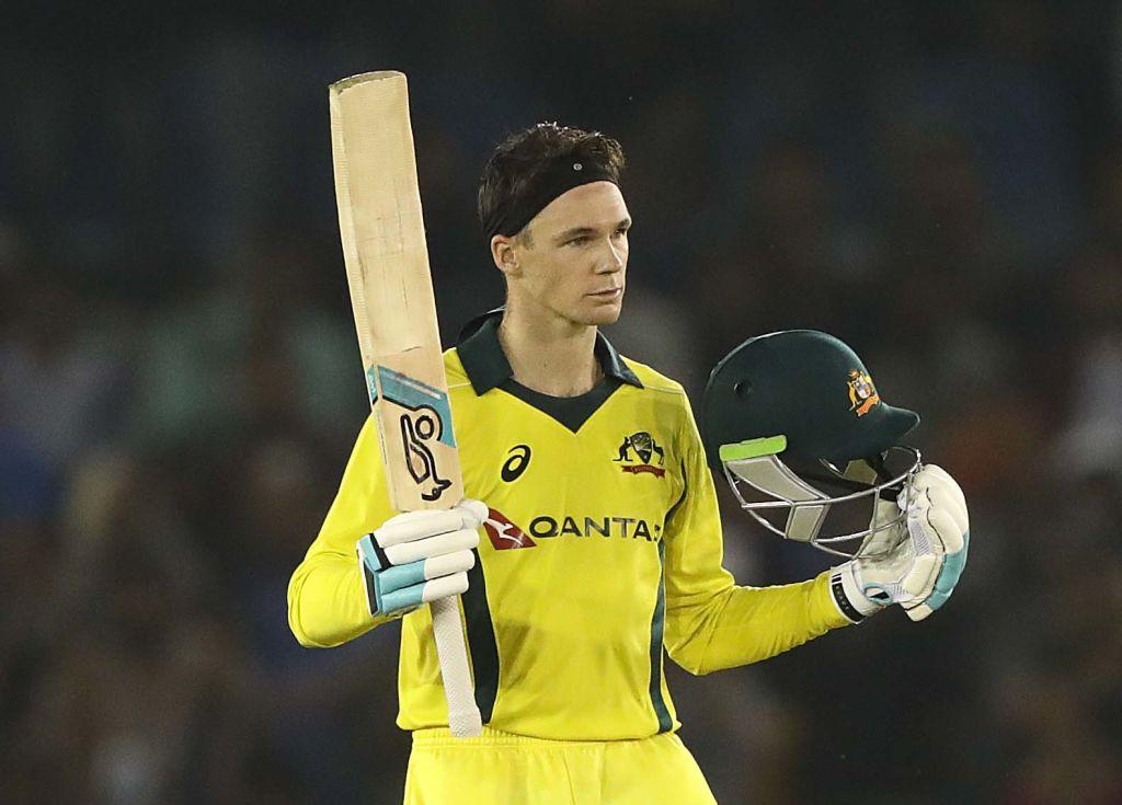 Australia's middle-order batsman Peter Handscomb (Courtesy BCCI Twitter)