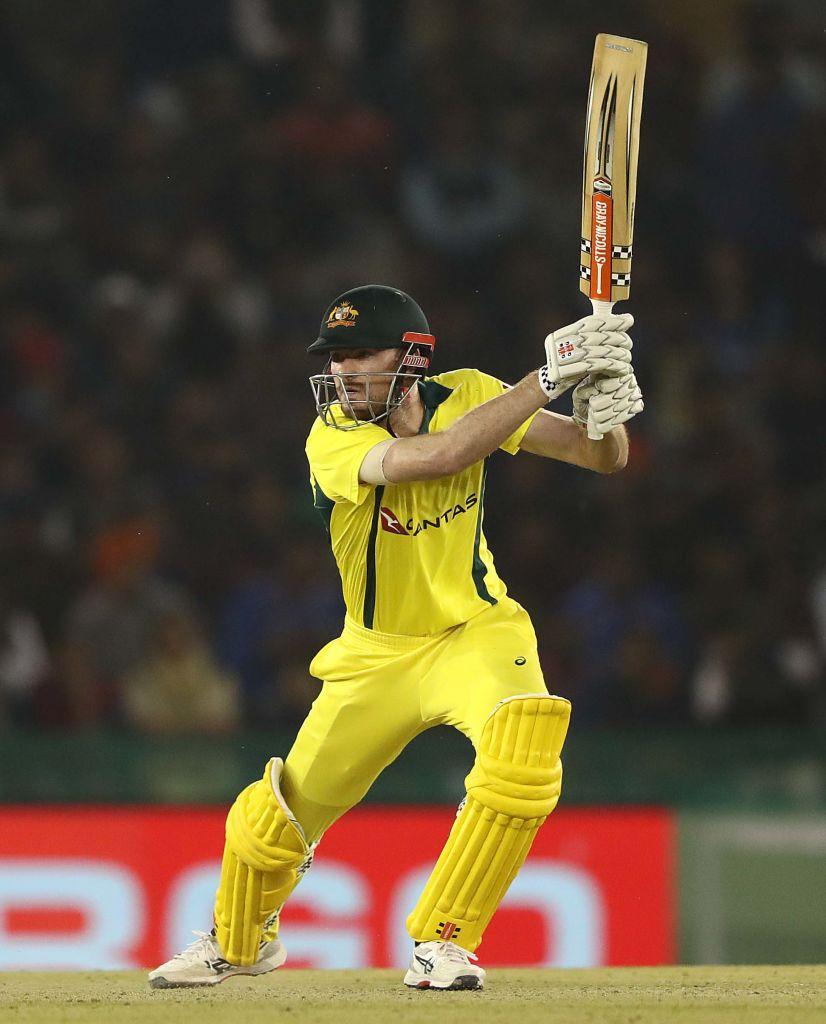 Australia's middle-order batsman Ashton Turner (Courtesy BCCI Twitter)