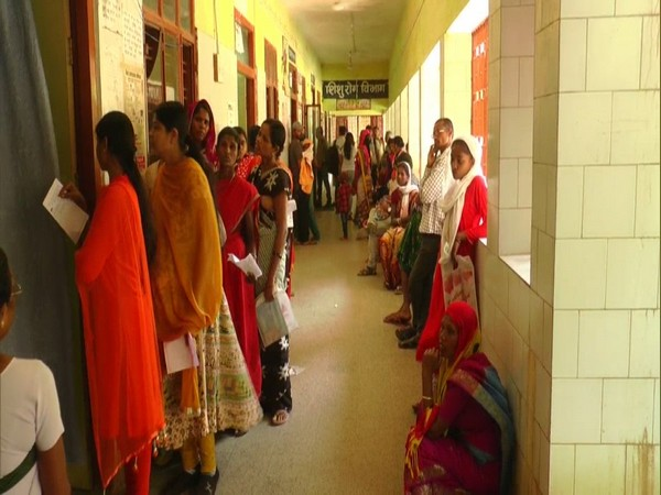 Maharani Hospital of Jagdalpur taking steps to increase voter turnout (Photo/ANI)