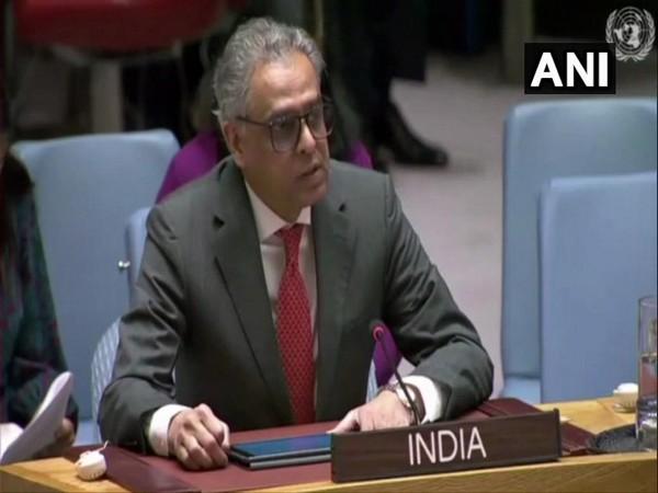 Syed Akbaruddin, India's permanent representative at UN (Photo/ANI)