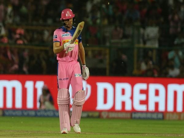 England wicket-keeper batsman Jos Buttler (Courtesy Rajasthan Royals Twitter)