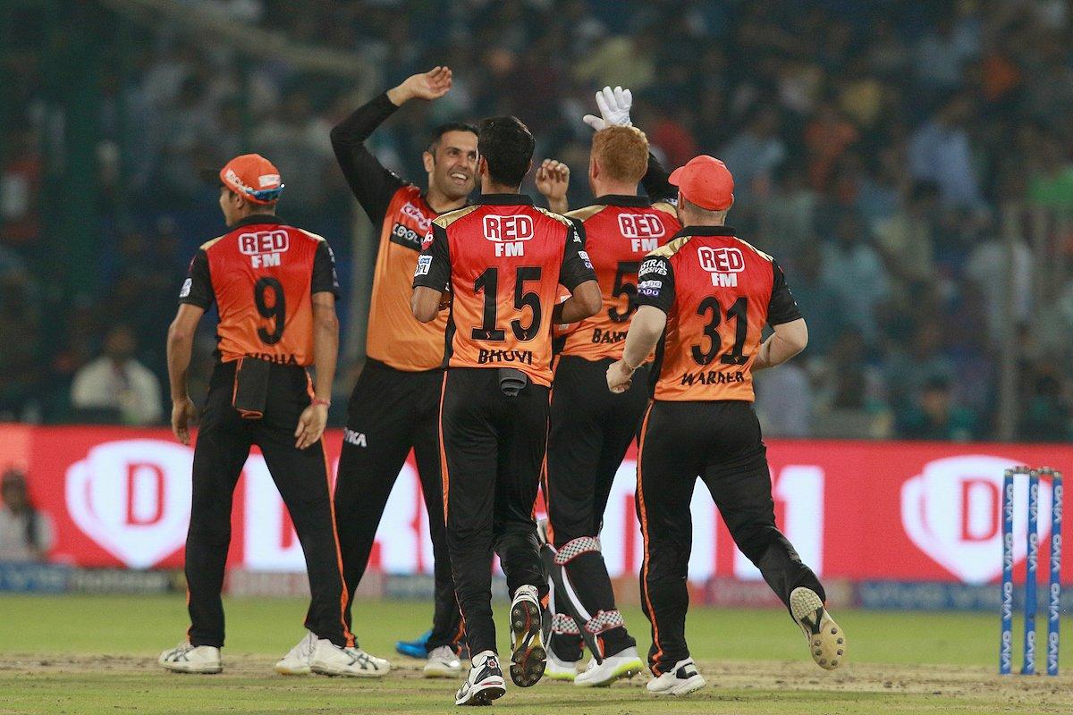 Sunrisers Hyderabad (Courtesy IPL Twitter)