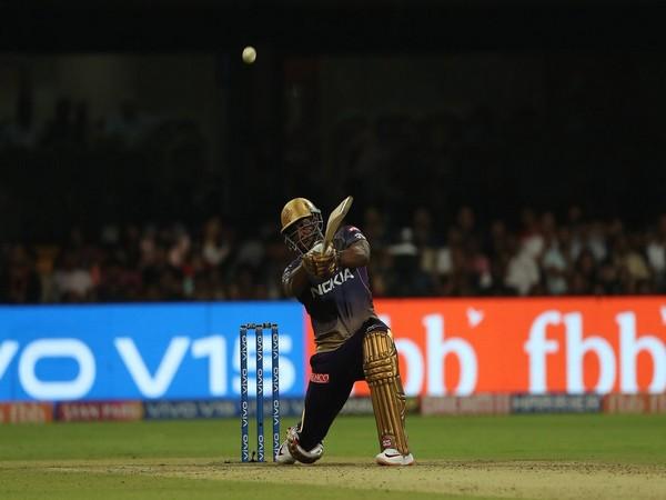 Kolkata Knight Riders' batter Andre Russell