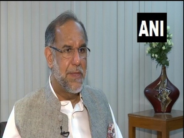 Indian diplomat Navdeep Suri speaking to ANI on Saturday. (Photo/ANI)
