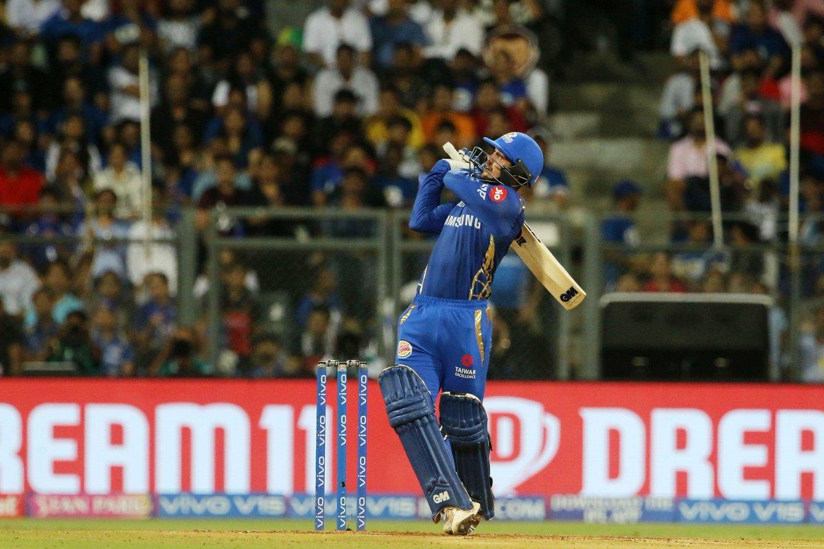 Mumbai Indians batsman Quinton de Kock (Photo/IPL Twitter)