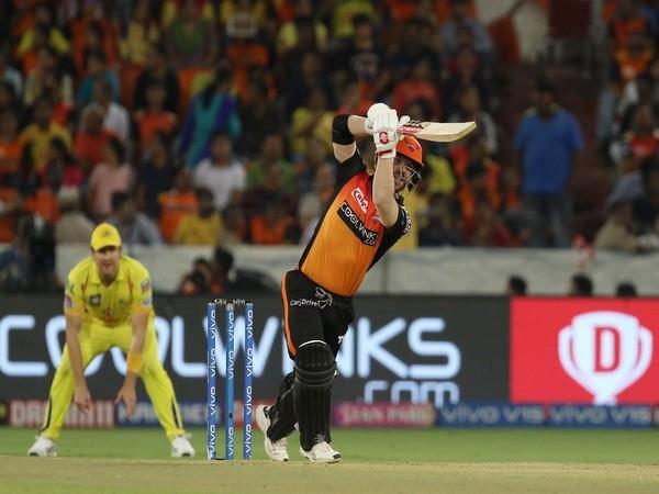 Sunrisers Hyderabad batsman David Warner (Photo/ IPL Twitter)