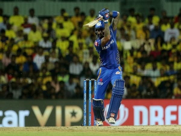 Mumbai Indians' Suryakumar Yadav in action (Photo/IPL Twitter)