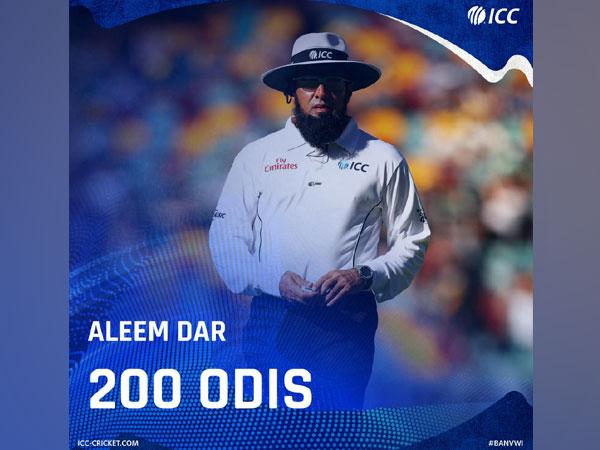 Umpire Aleem Dar (Photo/ICC Twitter)
