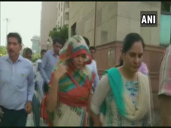 Apoorva Tiwari, wife of Rohit Shekhar Tiwari, sent to 14-day judicial custody by Delhi's Saket Court on Friday. (File pic)