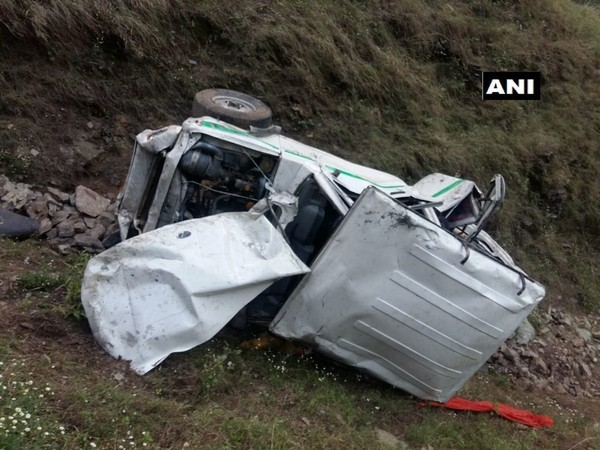 Conidtion of jeep after the accident. Photo/ANI