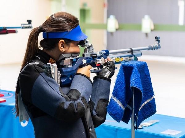 Indian rifle shooter Apurvi Chandela (Photo/ Apurvi Chandela Twitter)