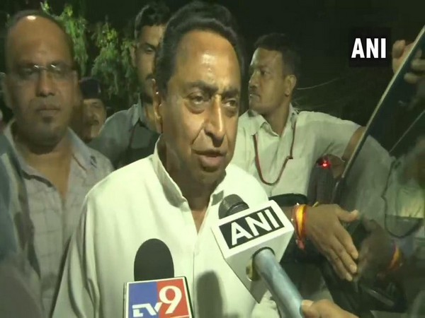 Kamal Nath speaking to media in Bhopal on Wednesday