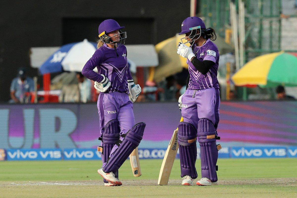 Danielle Wyatt and Mithali Raj (Photo/IPL Twitter)