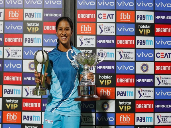 Jemimah Rodrigues after the Women's T20 Challenge (Photo/JemiRodrigues Twitter)